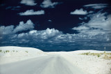 On the road to White Sands