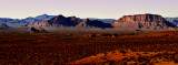 The day is ending on Valley of Fire