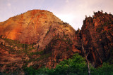 Utah, Zion National Park with my eyes