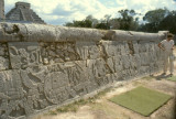 Chichen Itza, Wall of sacrifice
