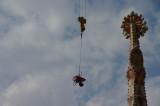 Flying wheelbarrow