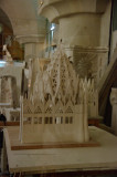Model of part of the Sagrada Familia