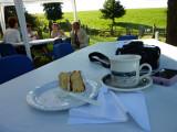 Morning Coffee in the Churchyard
