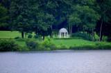 Gazebo Across the Lake