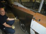 3/4 Quarter panel prototype on Superior ambulance
