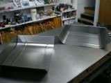 $160 Rear seat  floor pan/ Plancher arriere du banc Miller meteor