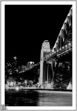 Sydney Bridge By The Pier.