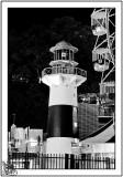 Lighthouse On The Wharf.