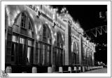 Wharf Buildings By Night.
