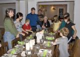 faux pas photography during Thanksgiving prayer.  copyright Tom Polakis