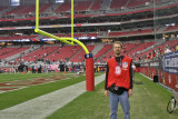 Sporting my NFL photographer vest