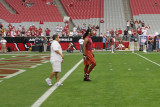Larry Fitzgerald and his tunes