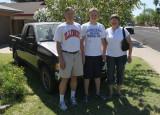 Tom, Matthew, and Barb Mozdzen