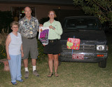 Mary Douglas, Wayne Thomas, and Julie