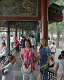 Blending in the Long Corridor Summer Palace