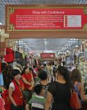 The Famous Silk Street in Downtown Beijing