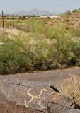 Petroglyphs at South Mountain -- May 11, 2008