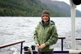 Allyson was delighted she SAW Nessie