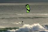 Kite Surfing, Santa Cruz, Ca