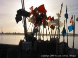 flag silhouettes, Essaouira