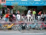 cafe society with bikes