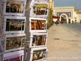 postcards at the blue gate, fes, maroc