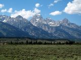 Grand Tetons in Jackson Hole Wyoming