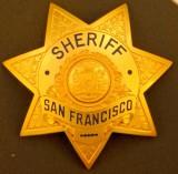 SF Sheriff badge