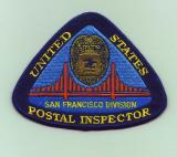 san francisco postal inspector patch
