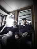 Three Men On Ferry #13124