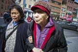 Two Women, Bowery #3716