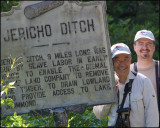 1748 John and Kevin at Jericho Ditch, The Great Dismal Swamp, Virginia