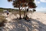 Resting on the beach, Captain Billy Landing (DSC4407)