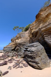 Rocks and sea cliffs, Captain Billy Landing (DSC4176)