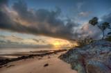 Sunrise over the tip of Cape York (DSC4861-63)