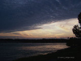 Falls of the Ohio Sunset.