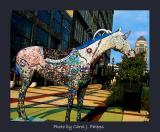 Venetian Way Glass Factory Horse.