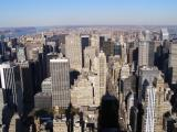 Looking out from the empire state building!