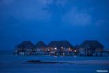 Overwater suites n blue