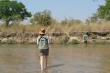 Crossing the Kapamba River