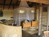 Kapamba Camp bedroom area.
