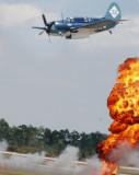 Dauntless on Bomb Run-Florida International Airshow 3-21-2009