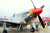 The Great St. of Maine Airshow  P-51C Tuskegee Airman WWll
