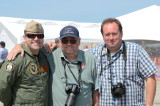 The Great St. of Maine Airshow  Lt. Stewie Strout- Dad Ken and Brother Jason