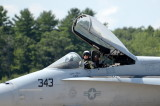 The Great St. of Maine Airshow  F/A 18 Hornet