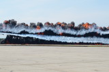 The Great St. of Maine Airshow --Smoke and Flame