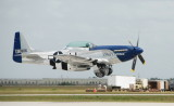 WW II P-51 Flown by Lee Lauderback - Charlotte Co. AirShow