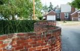 Rebecca's serpentine wall