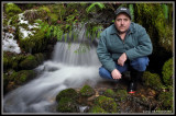 Water Fall Portrait