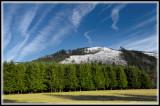 Mountain view from Deer Horn lane.